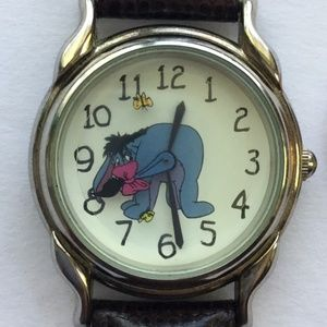 The Disney Store Eeoyre  ROTATING Tail WATCH